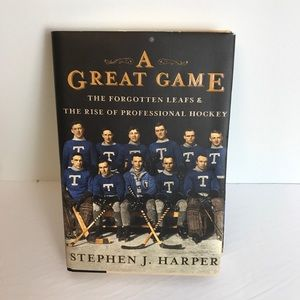 Hardcover A Great Game by Stephen J. Harper